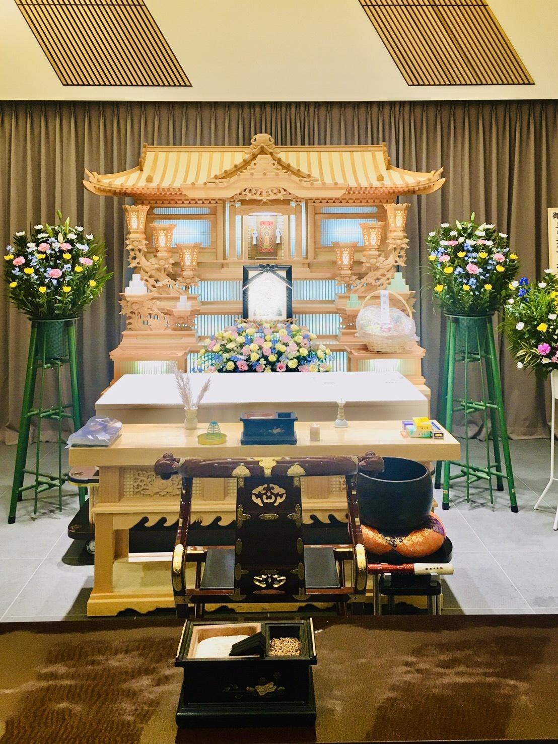 津市家族葬風景