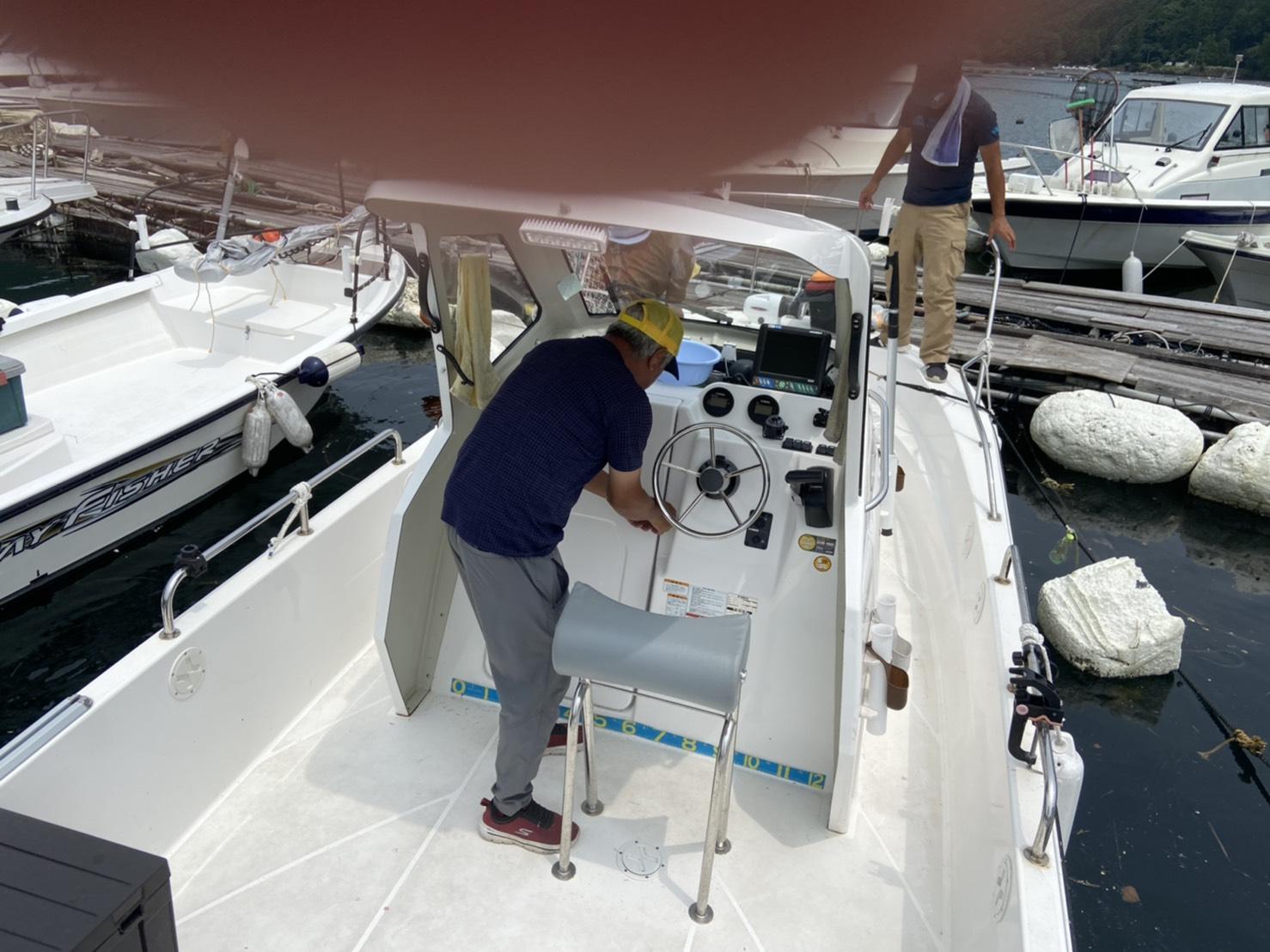 海洋散骨 船➂